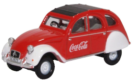 Oxford Diecast 76CT007CC Citroen 2CV Coca Cola