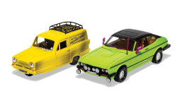 Corgi CC99189 Only Fools and Horses- Reliant Regal and Ford Capri Mk 11