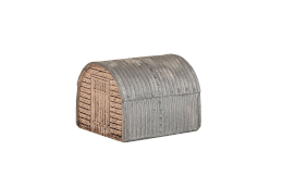 CG233 Anderson shelter - wooden ends