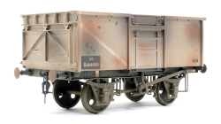 Gaugemaster GM7410302 16T Mineral Wagon BR Grey 266950  Weathered