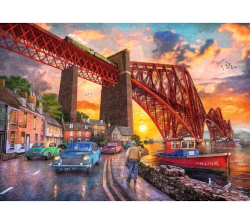 Ravensburger NEW 1000 piece jigsaw 'Forth Bridge at Sunset'