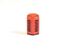 SS340 Red telephone box (traditional K6 type)