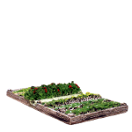 CG 250 Vegetable patch within a raised timber frame