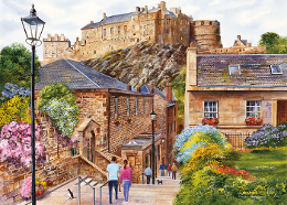 Gibsons 1000 piece jigsaw 'Edinburgh Vennel'