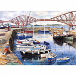 Gibsons 'Queensferry Harbour' 1000 piece jigsaw
